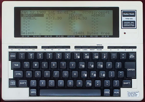 500px Radio Shack TRS 80 Model 100